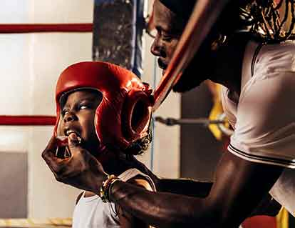 Senior boxing