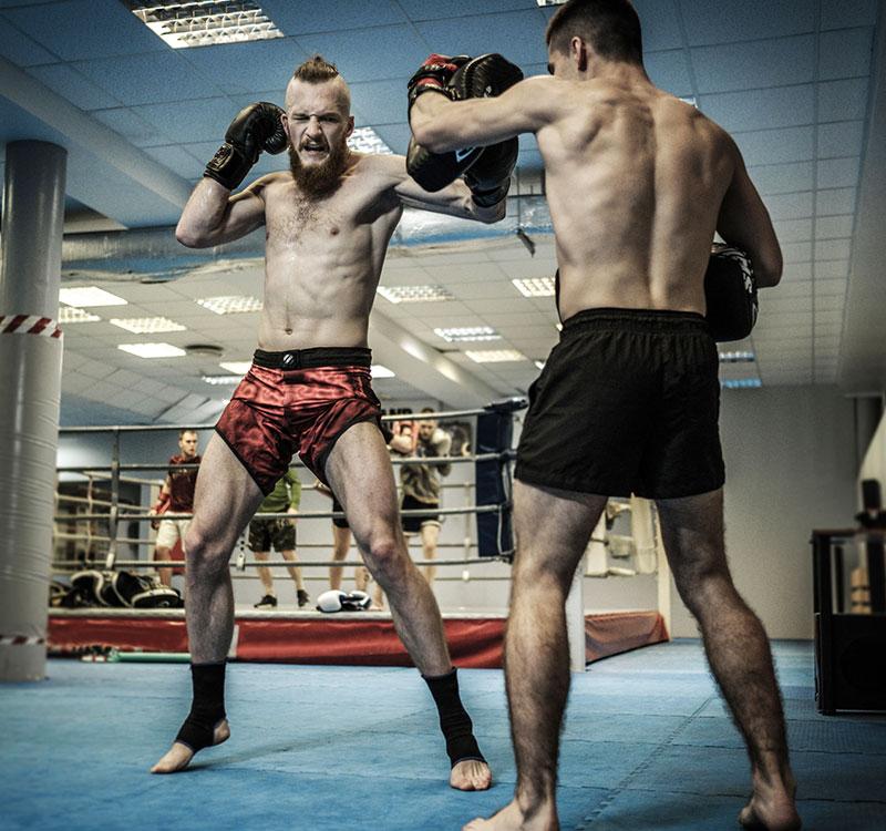 Sénior boxing